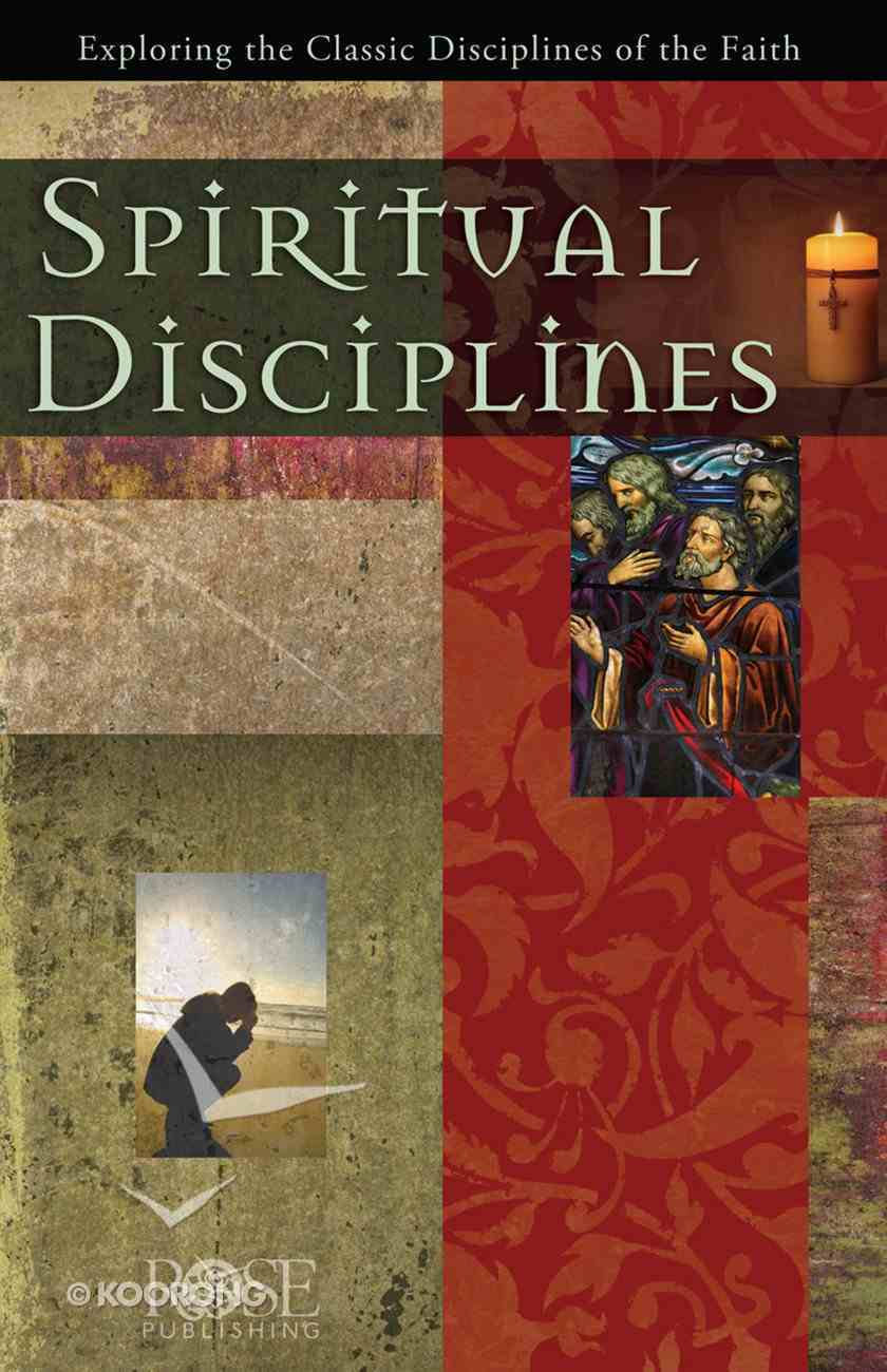 Spiritual Disciplines (Rose Guide Series) Pamphlet