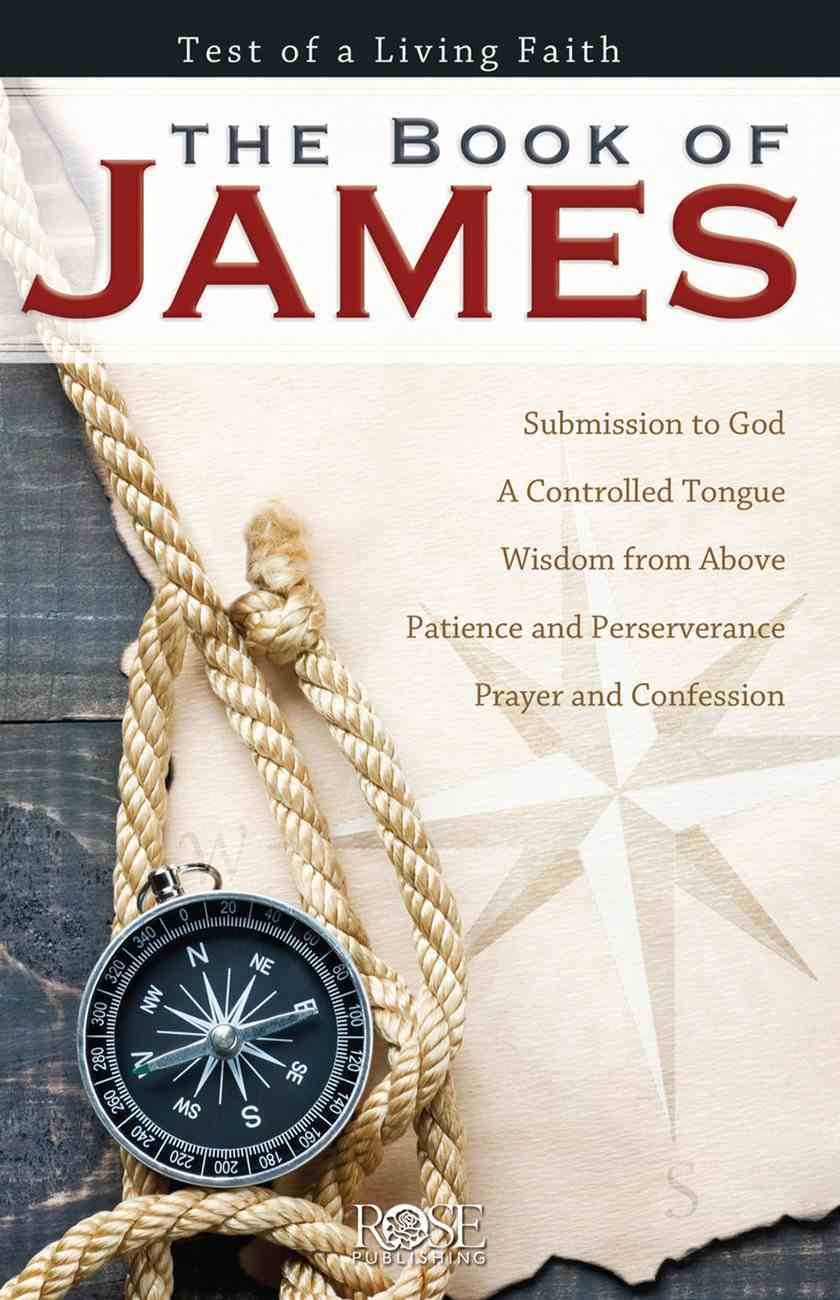 Book of James (Rose Guide Series) Pamphlet