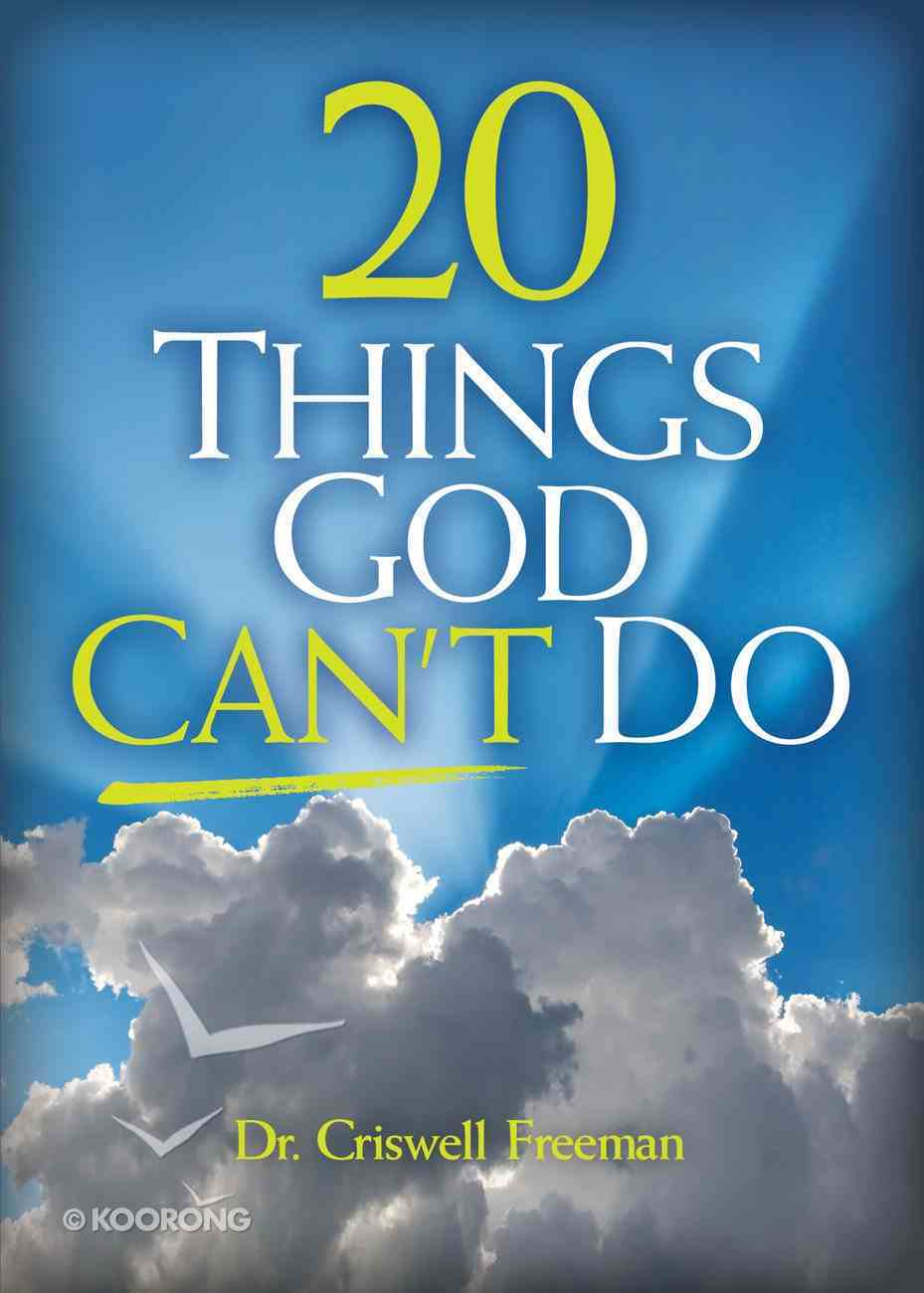 20 Things God Can't Do eBook
