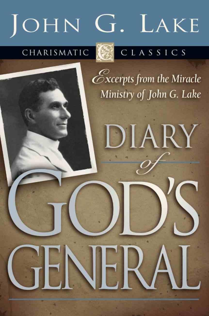 Diary of God's Generals eBook