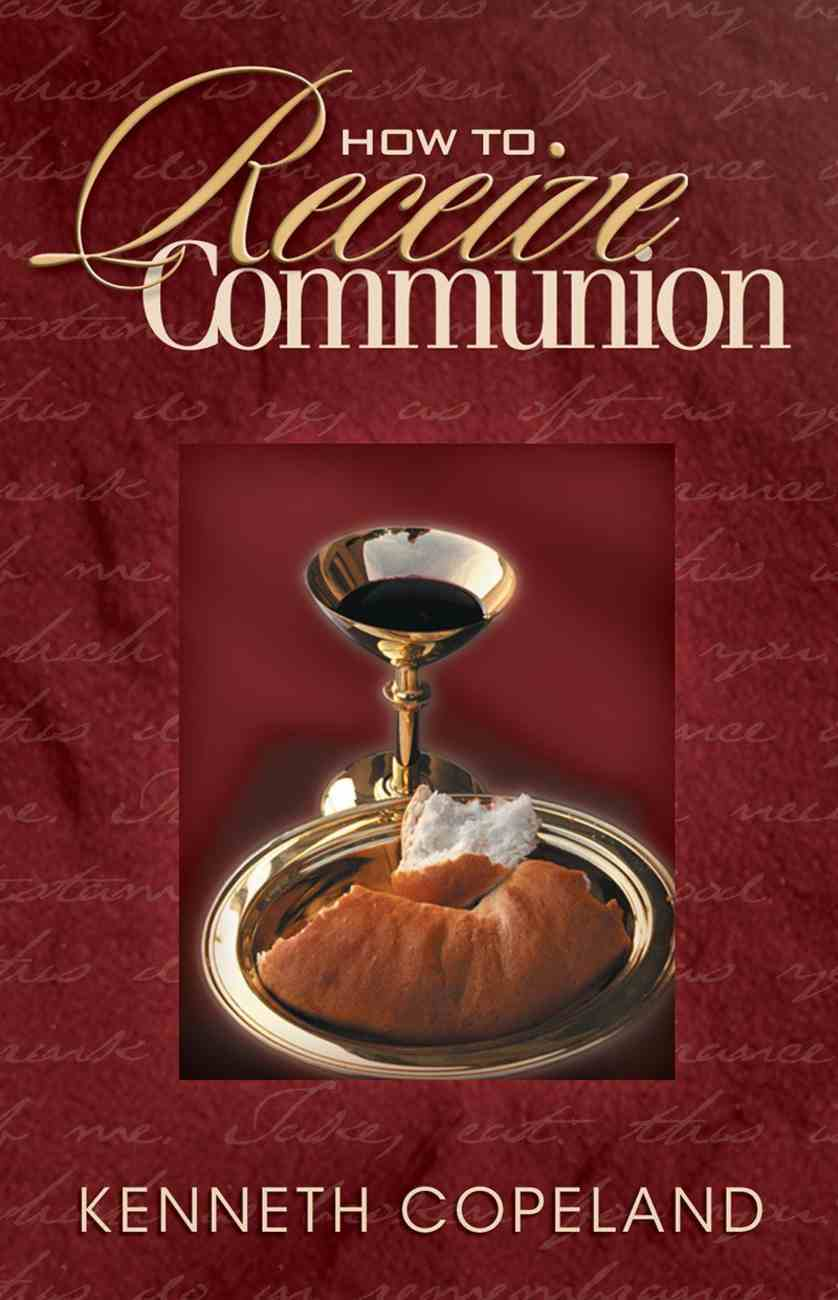 How to Receive Communion eBook