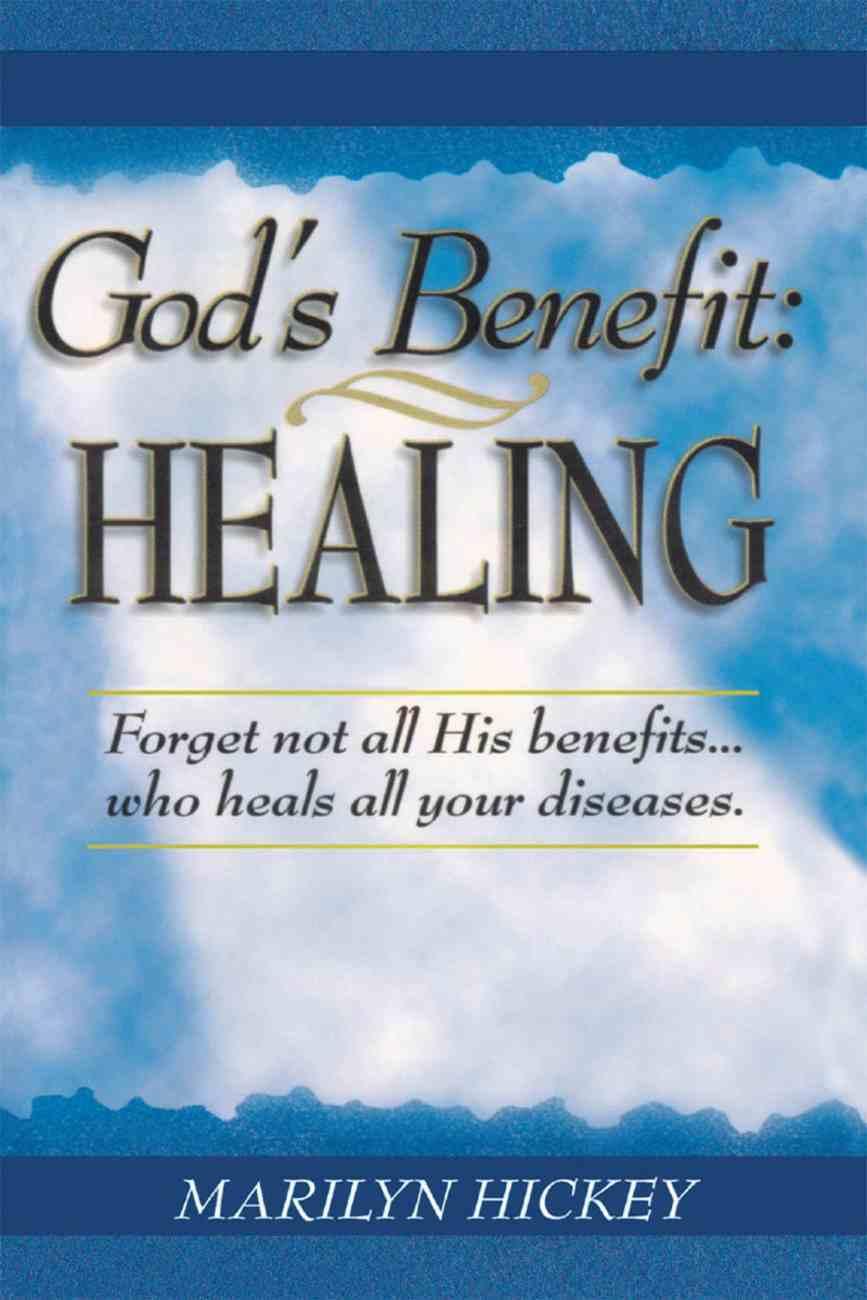 God's Benefit eBook
