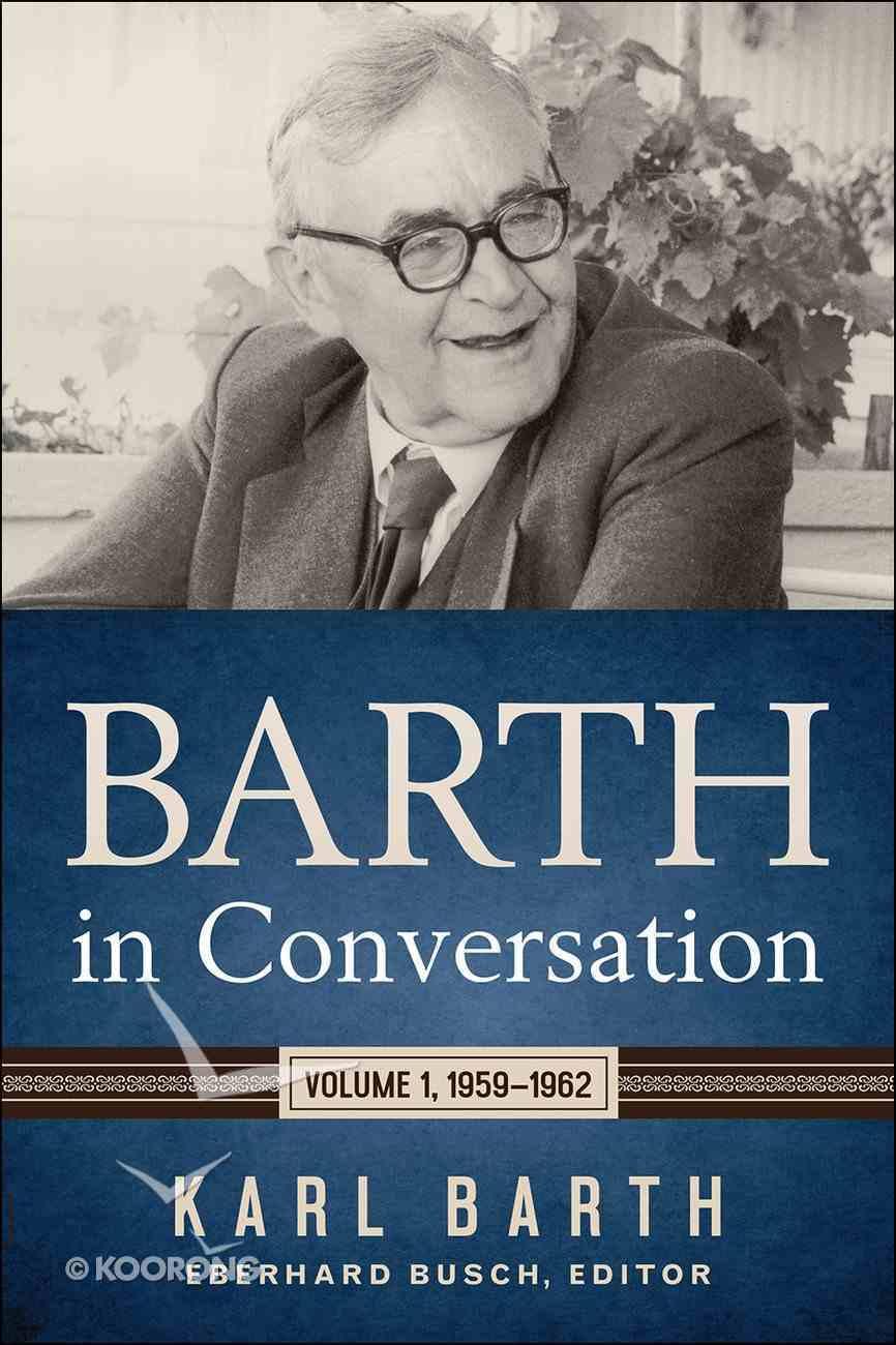 Barth in Conversation eBook