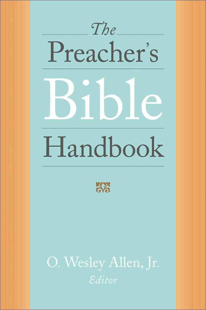 The Preacher's Bible Handbook eBook