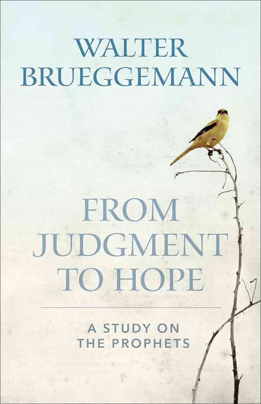From Judgment to Hope eBook