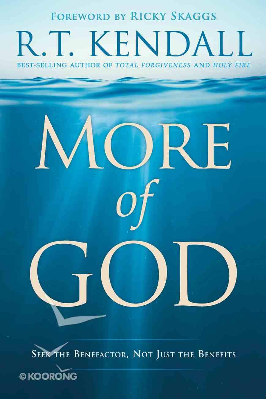 More of God eBook