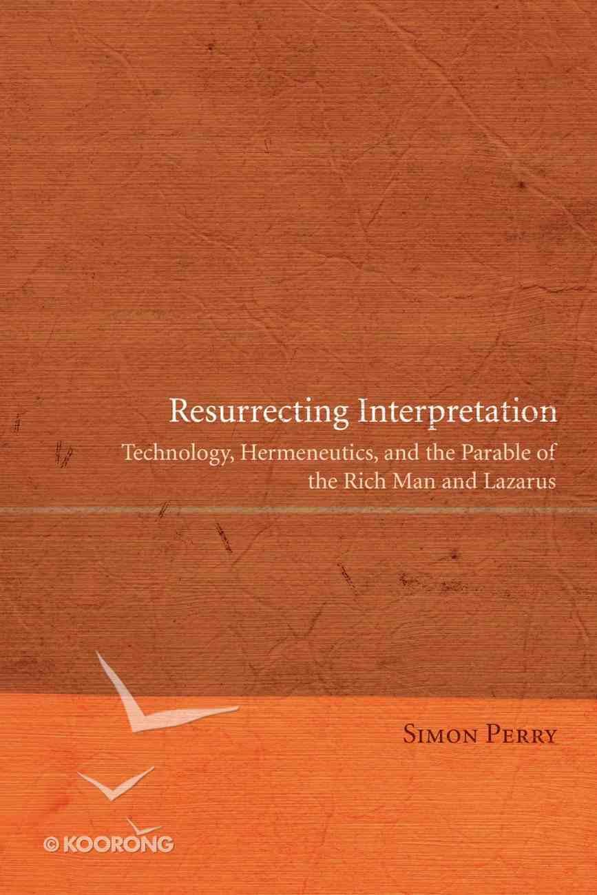 Resurrecting Interpretation eBook