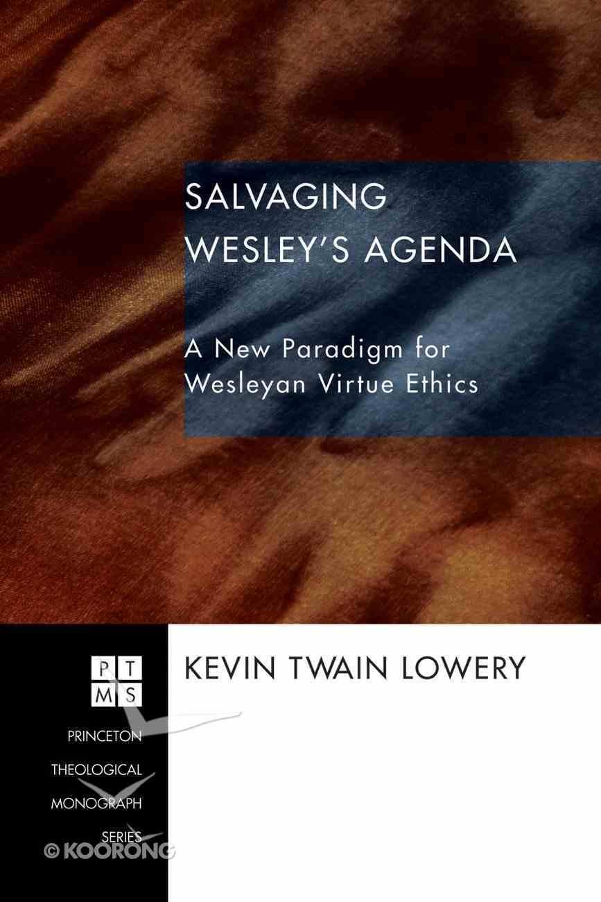 Salvaging Wesley's Agenda (Princeton Theological Monograph Series) eBook