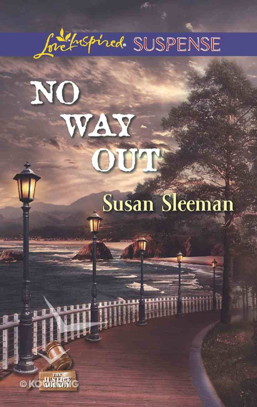 No Way Out (The Justice Agency) (Love Inspired Suspense Series) eBook