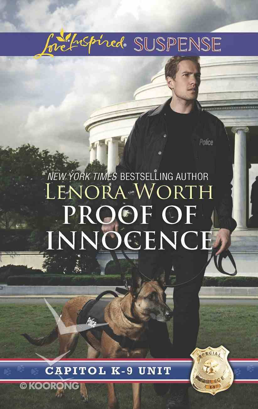 Proof of Innocence (Capitol K-9 Unit) (Love Inspired Suspense Series) eBook