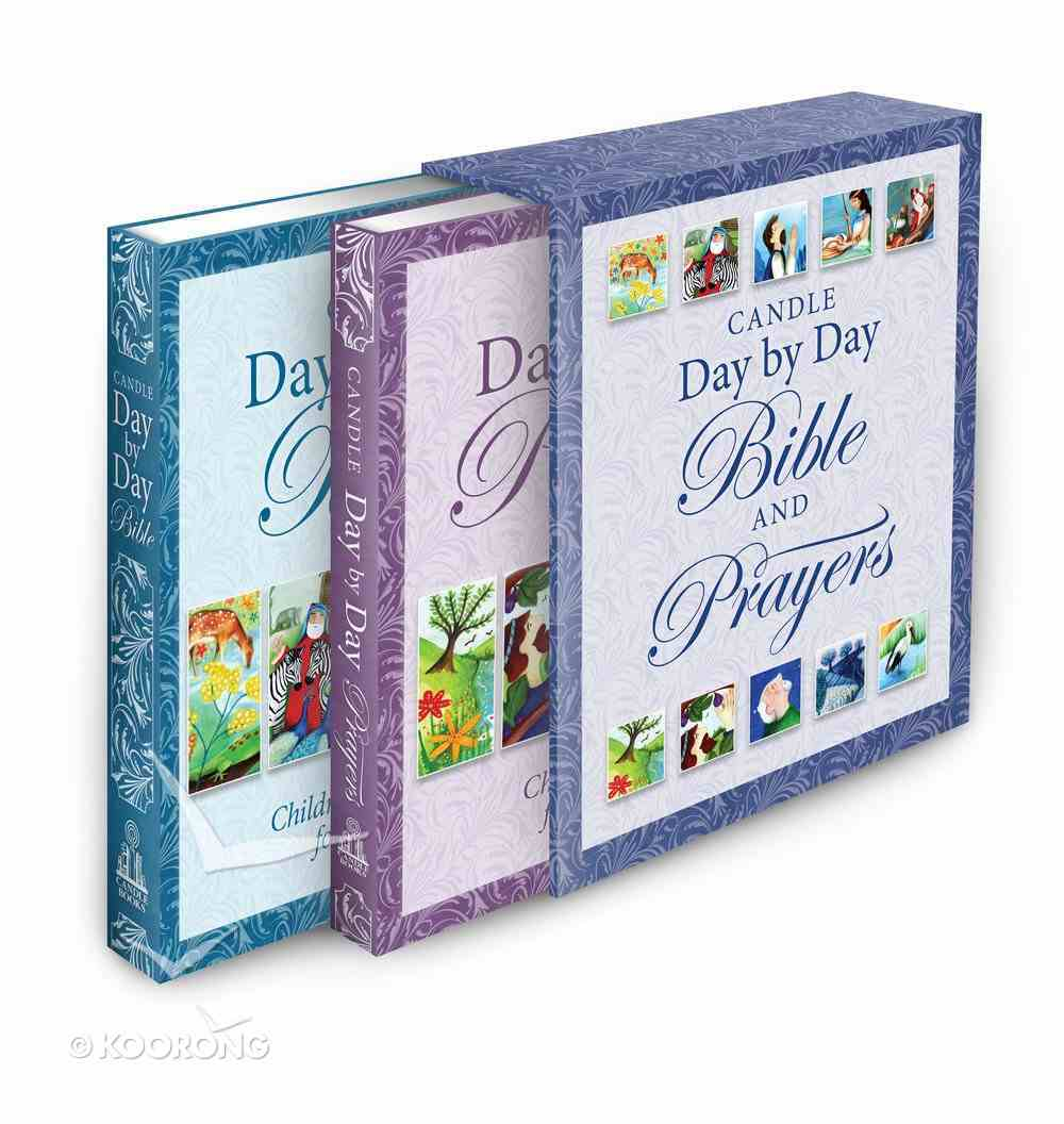 Candle Day By Day Bible and Prayers Gift Set Hardback