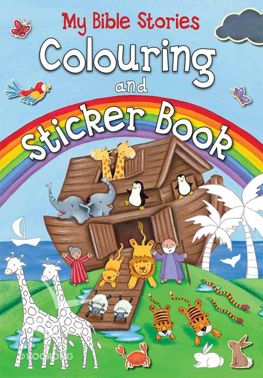 My Bible Stories Colouring and Sticker Book Paperback