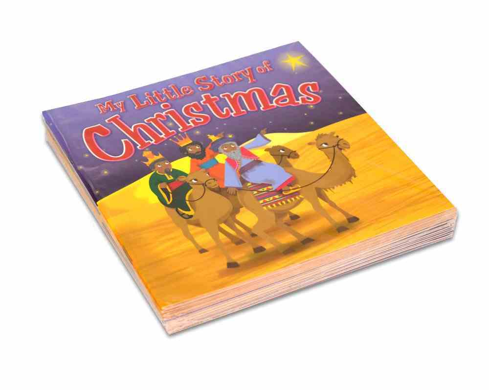 My Little Story of Christmas (10 Pack) Paperback