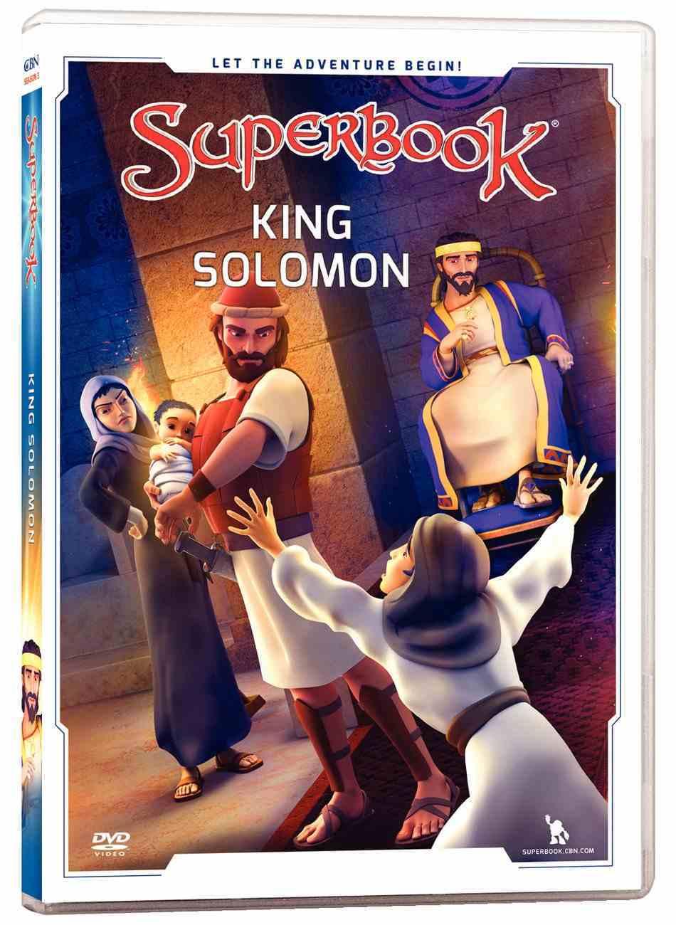 King Solomon (#11 in Superbook Dvd Series Season 3) DVD