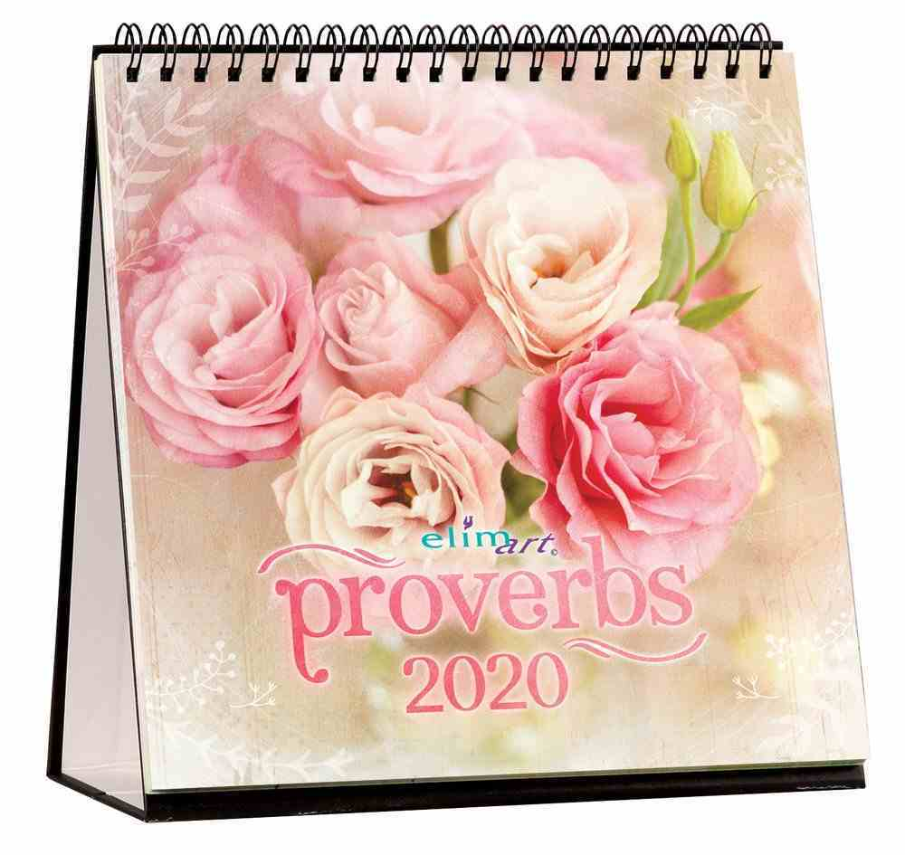 2020 Table Calendar: Proverbs Calendar