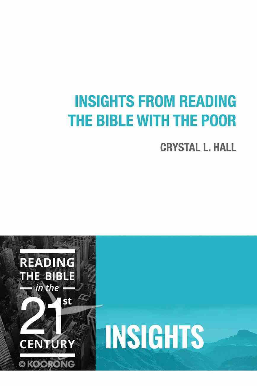Insights From Reading the Bible With the Poor (Insights Series) Paperback