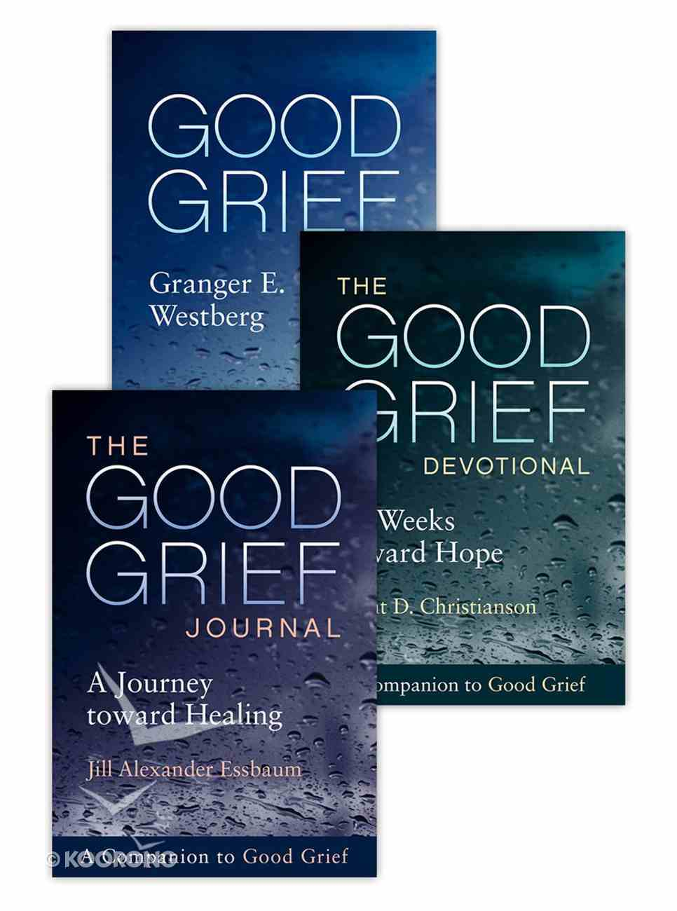 Good Grief: The Complete Set (Book, Devotional And Journal) Paperback