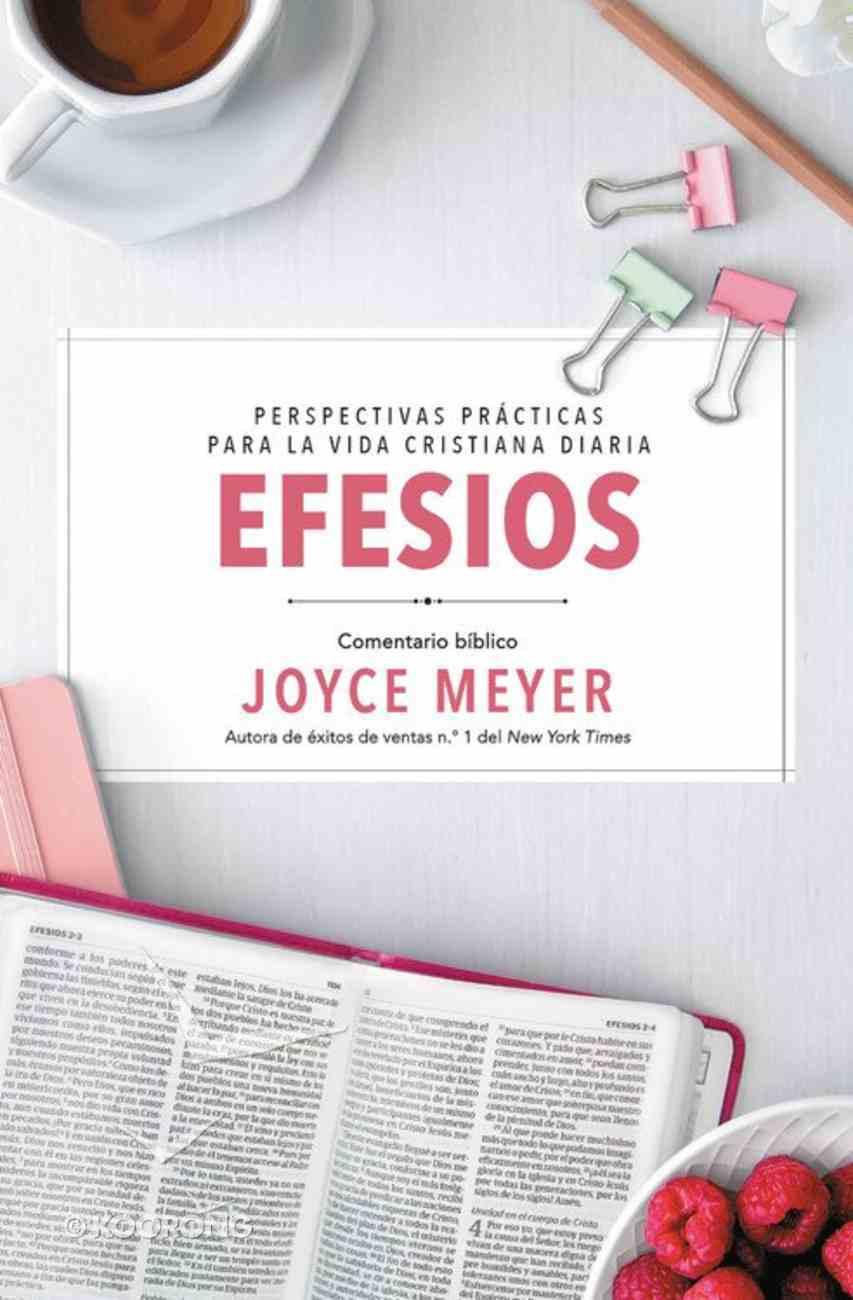 Efesios: Comentario Biblico (Ephesians: Biblical Commentary) (#01 in Deeper Life Biblical Study Series) Paperback