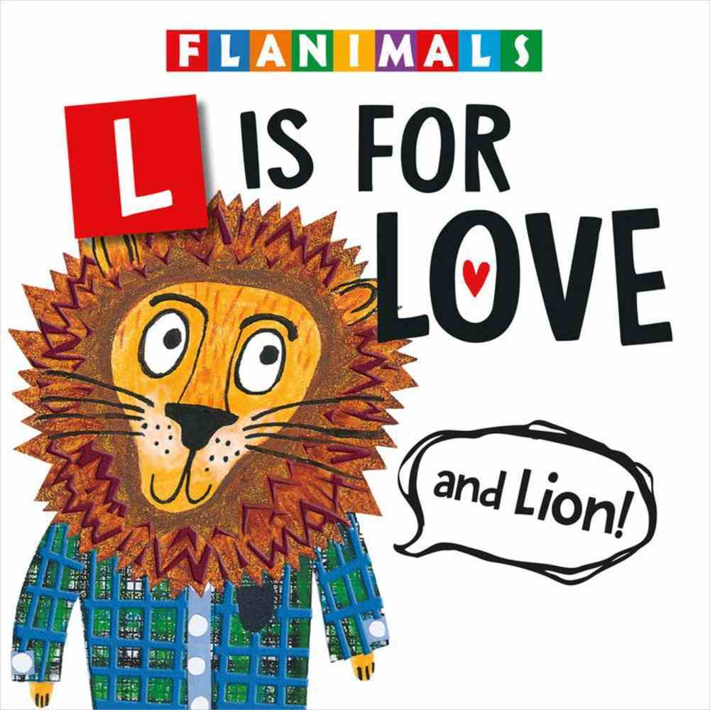 L is For Love (And Lion!) Board Book