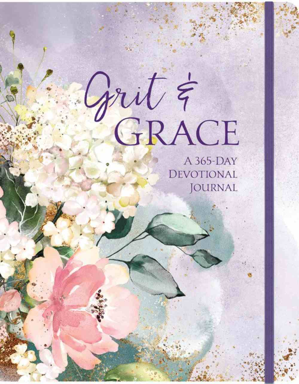 Grit & Grace: A 365-Day Devotional Journal With Elastic Band Hardback