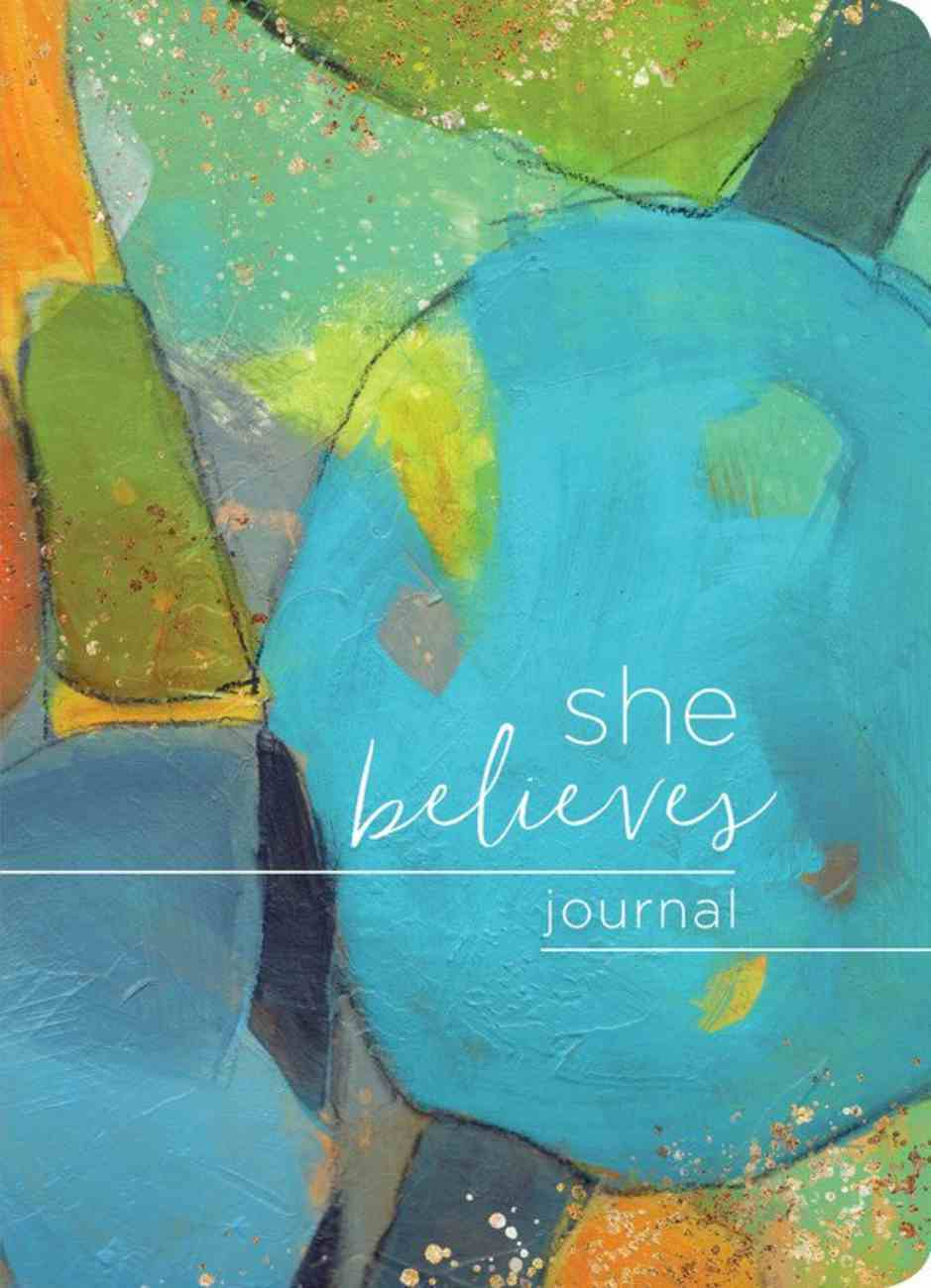 She Believes... Journal Paperback
