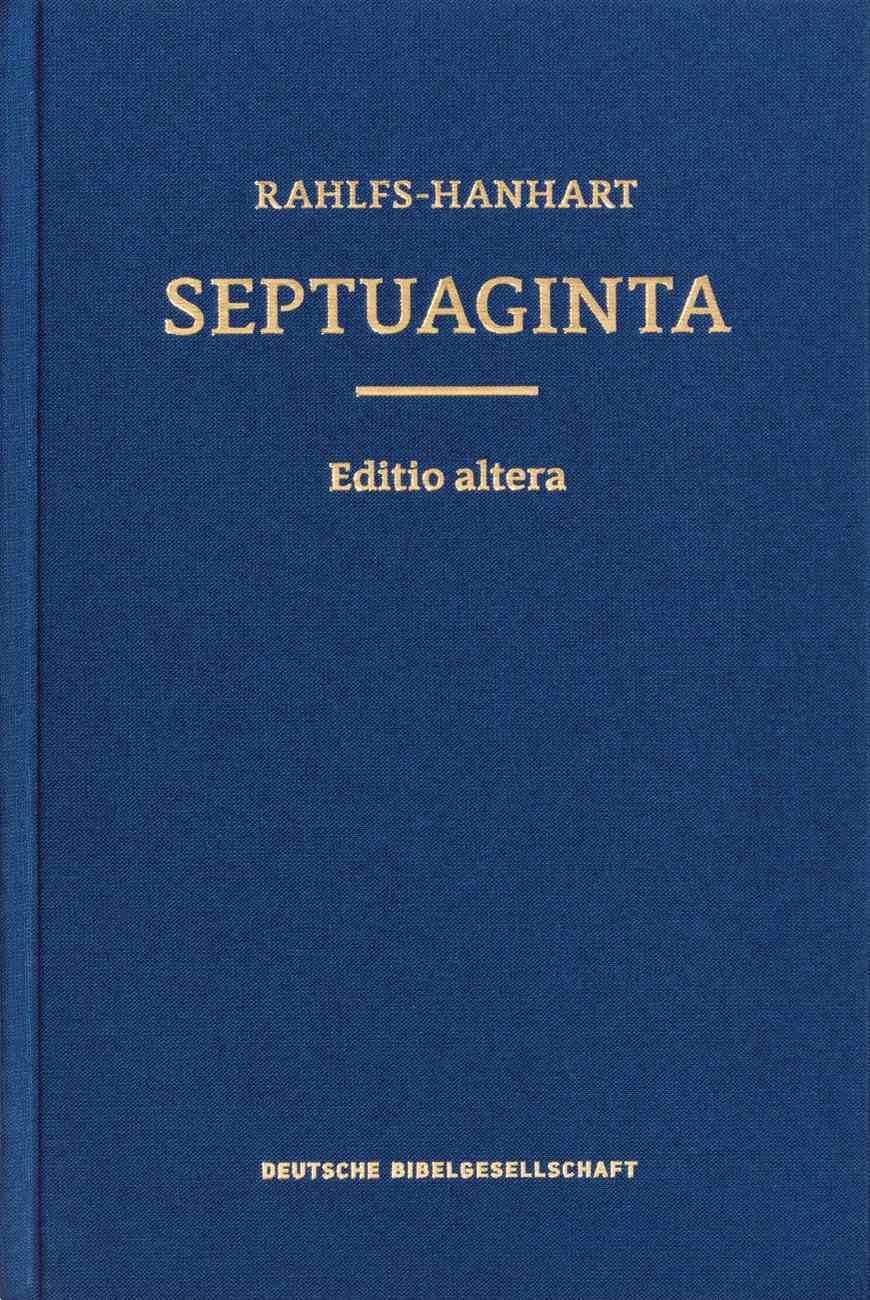 Septuagint (Large Print) Hardback