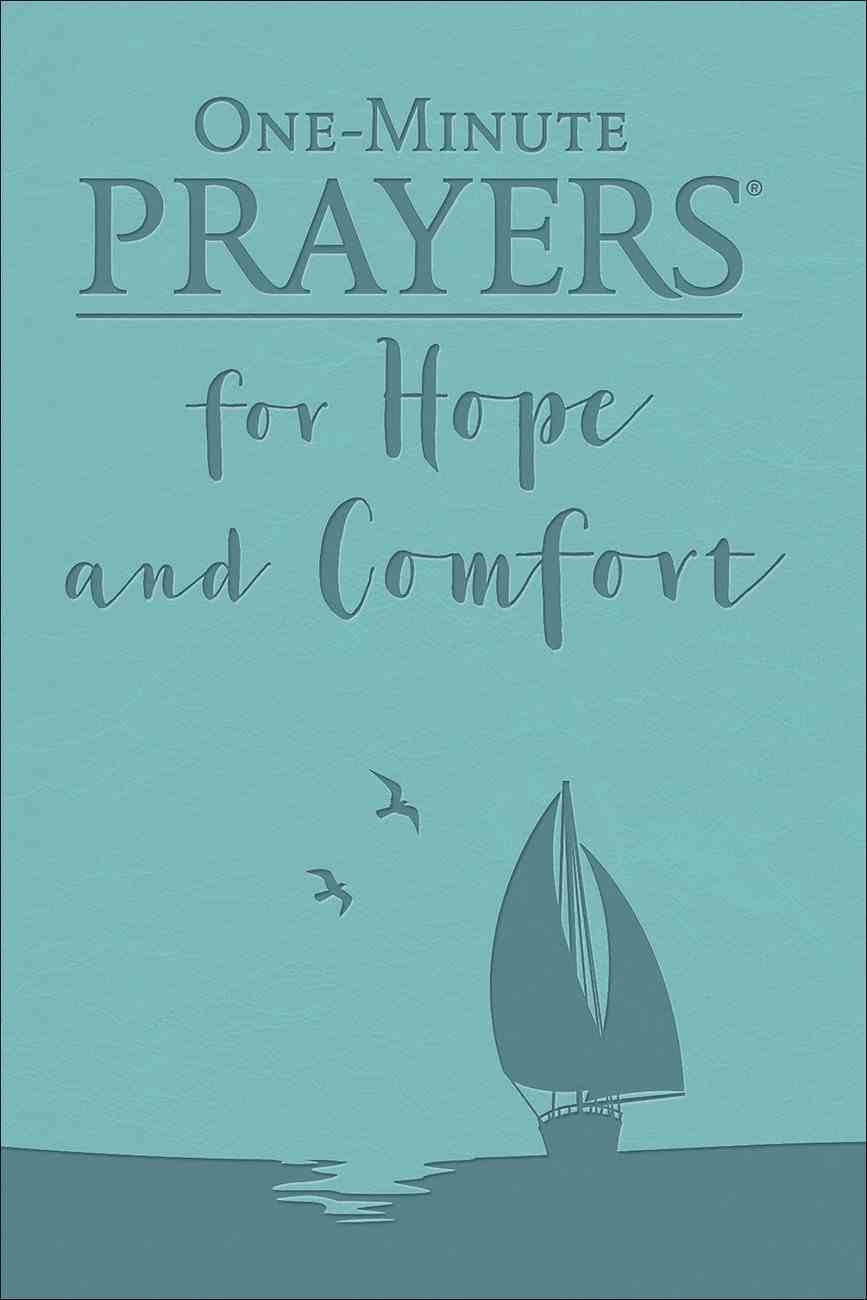 One Minute Prayers For Hope and Comfort Imitation Leather