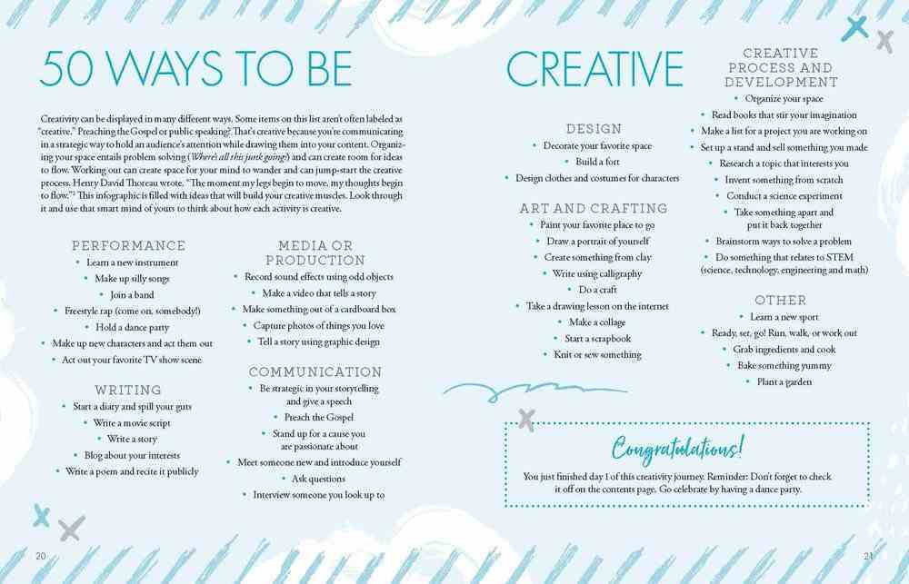 Courageous Creative: A 31-Day Interactive Devotional Book Other