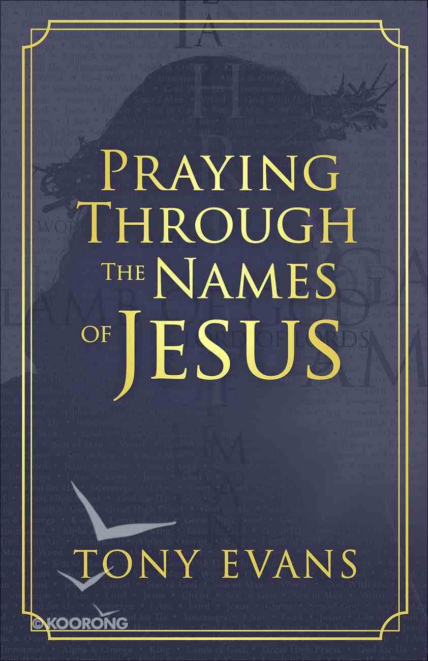 Praying Through the Names of Jesus Paperback