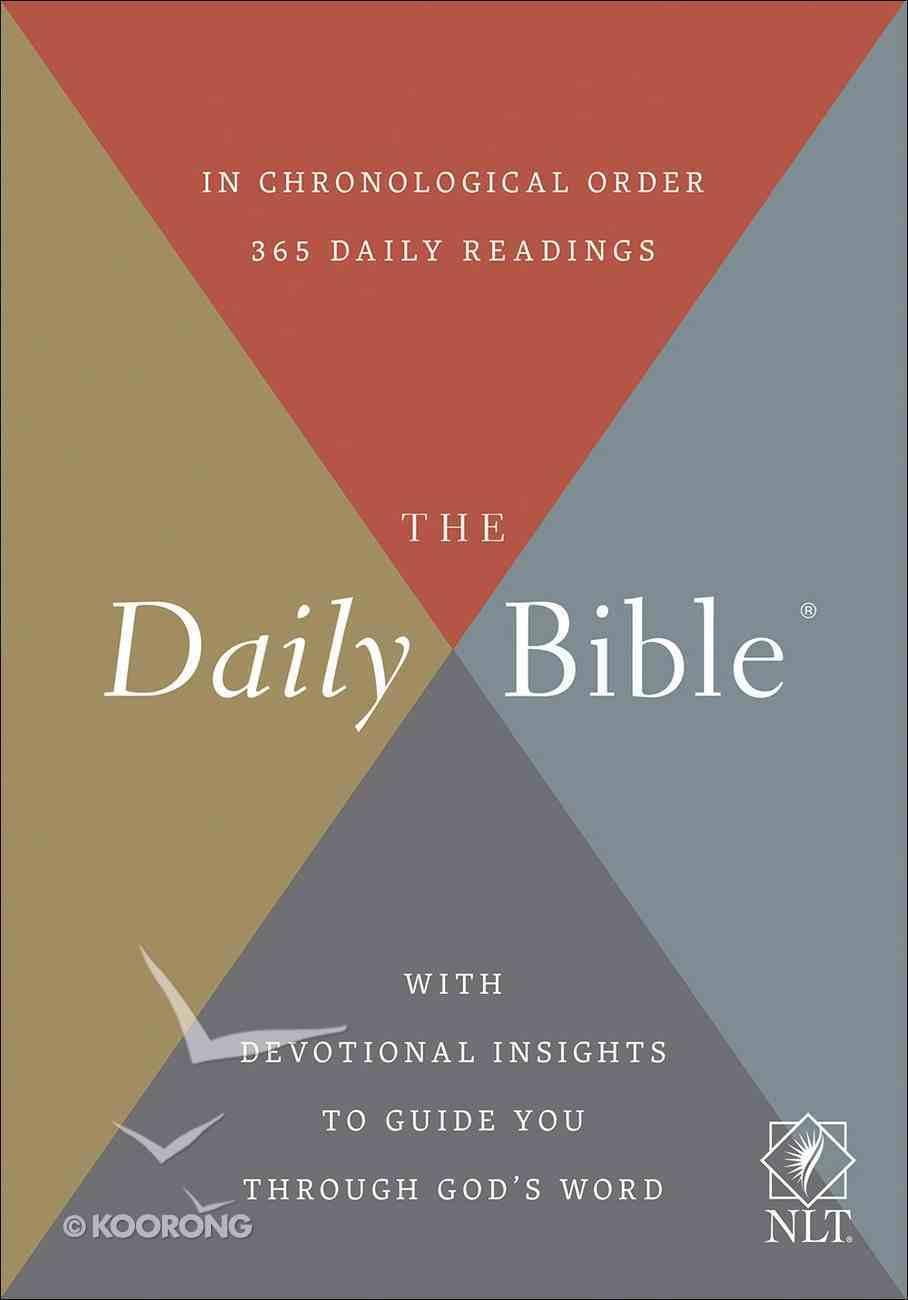 NLT Daily Bible Hardback