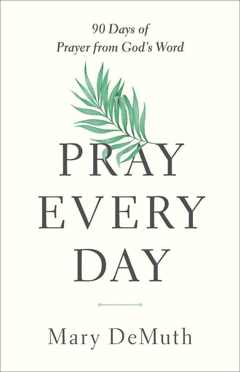 Pray Every Day: 90 Days of Prayer From God's Word Paperback