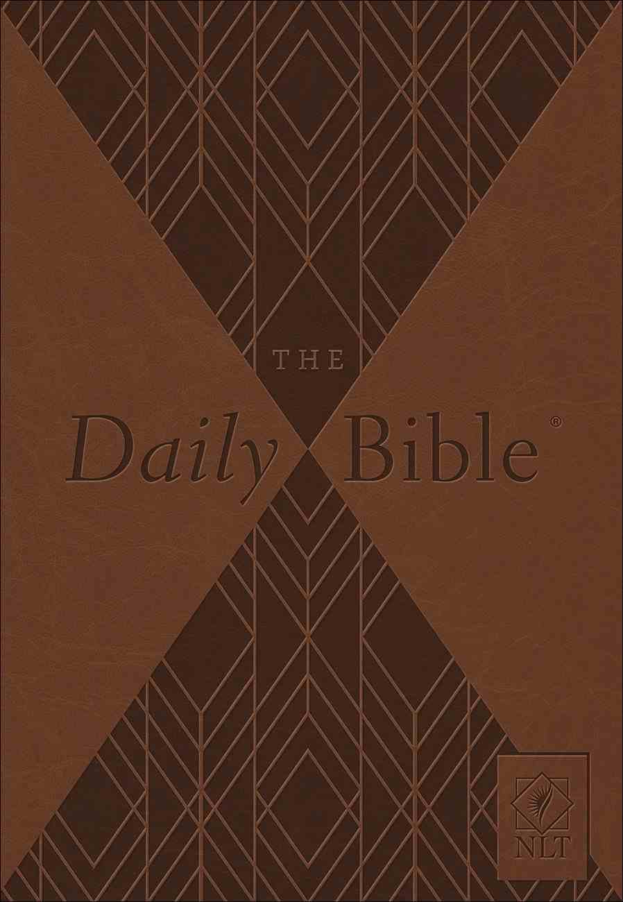 NLT Daily Bible Milano Paperback