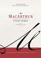 NKJV Macarthur Study Bible Blue (2nd Edition) Hardback