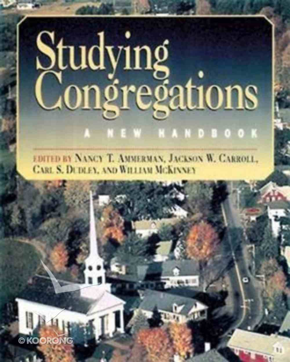 Studying Congregations Paperback