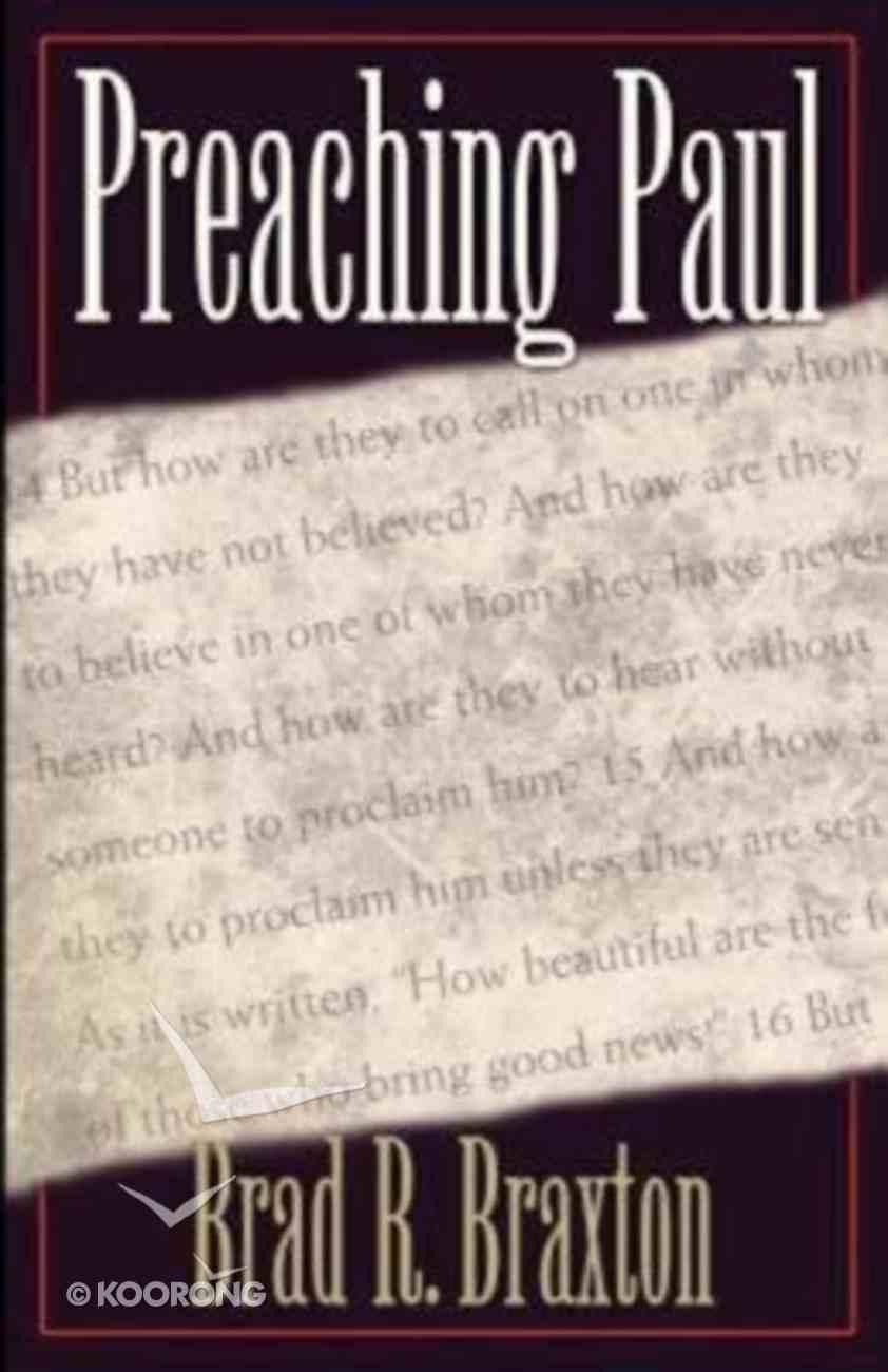 Preaching Paul Paperback