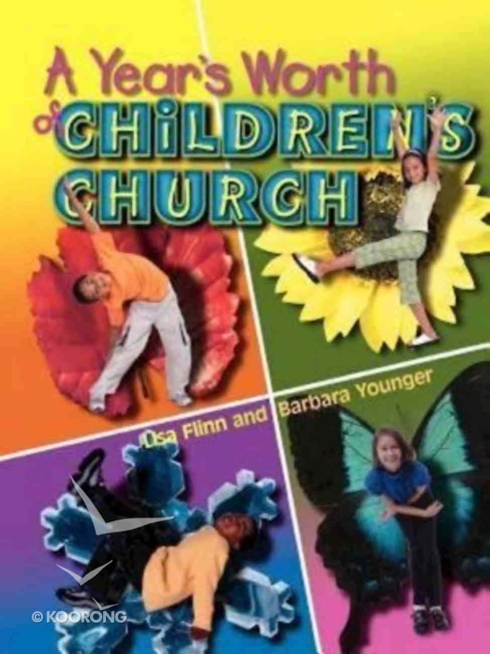A Year's Worth of Children's Church Spiral