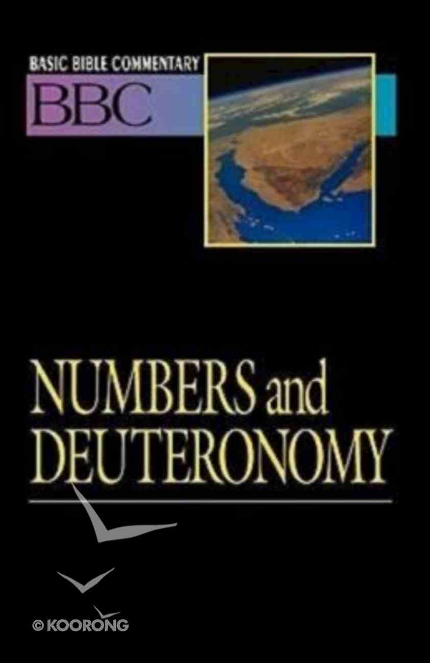 Numbers and Deuteronomy (#03 in Basic Bible Commentary Series) Paperback