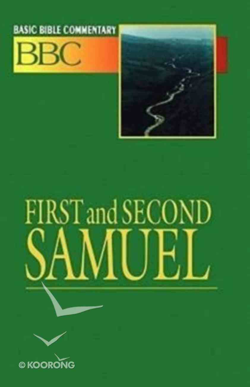 First and Second Samuel (#05 in Basic Bible Commentary Series) Paperback