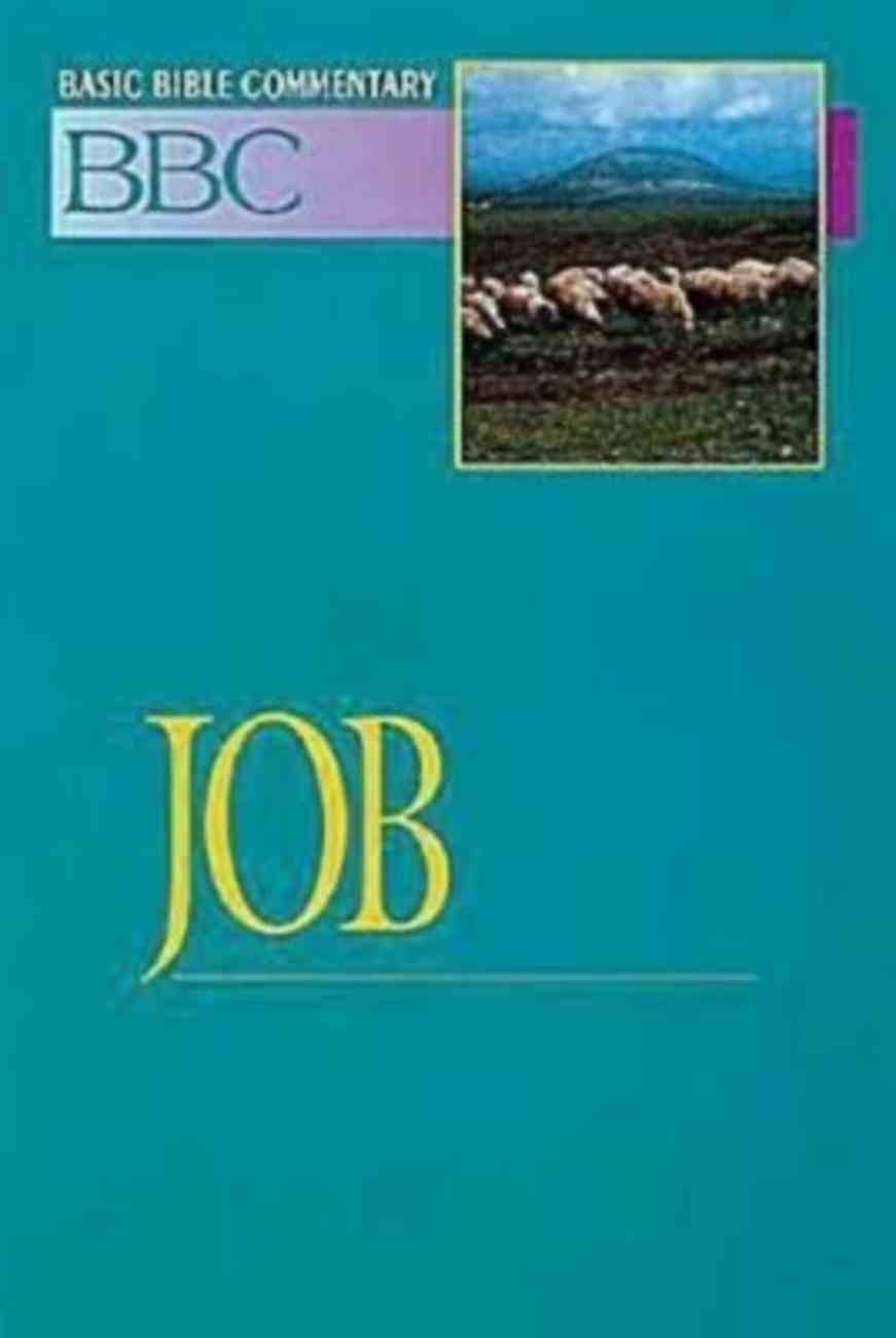Job (#09 in Basic Bible Commentary Series) Paperback
