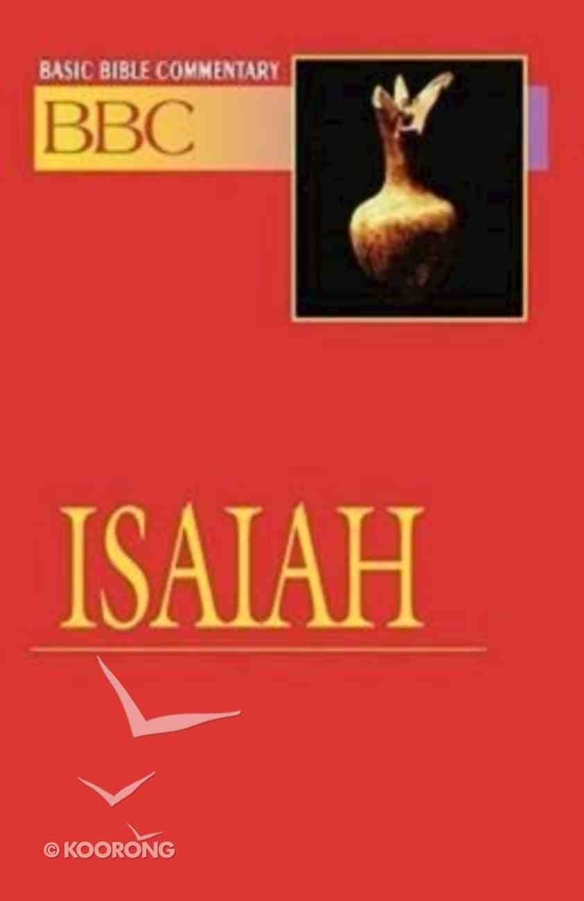 Isaiah (#12 in Basic Bible Commentary Series) Paperback