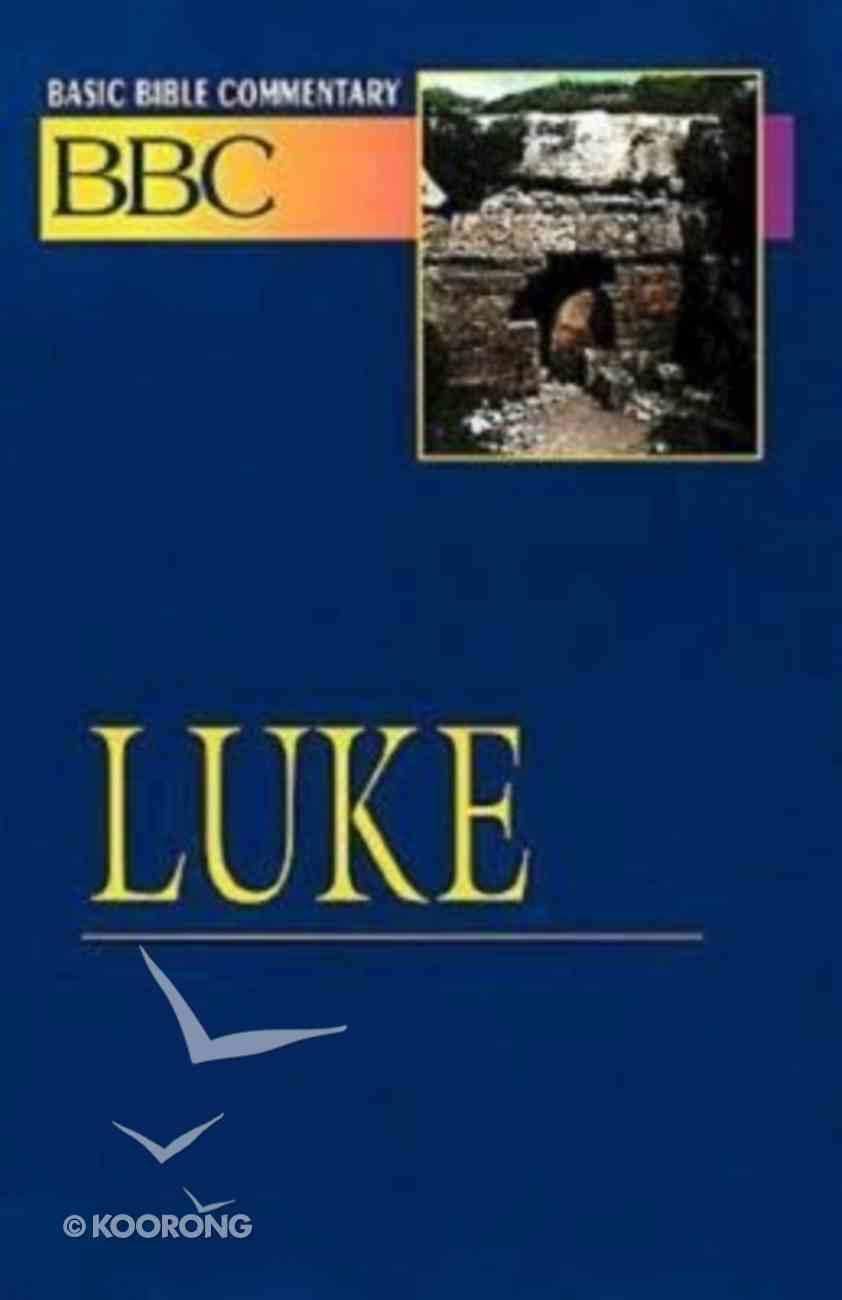 Luke (#19 in Basic Bible Commentary Series) Paperback