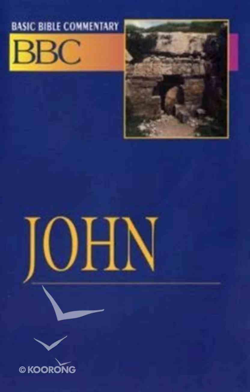 John (#20 in Basic Bible Commentary Series) Paperback