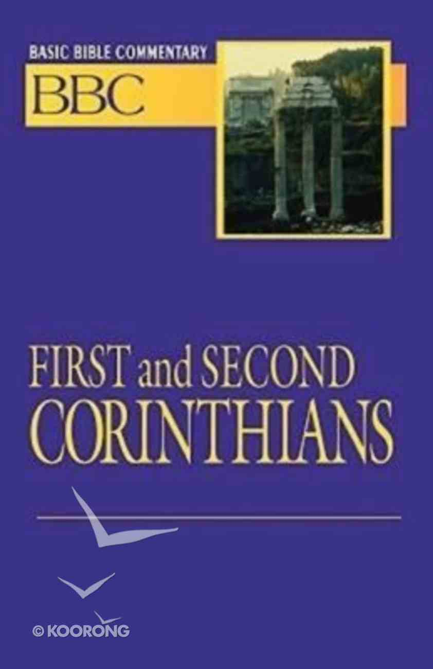 First and Second Corinthians (#23 in Basic Bible Commentary Series) Paperback