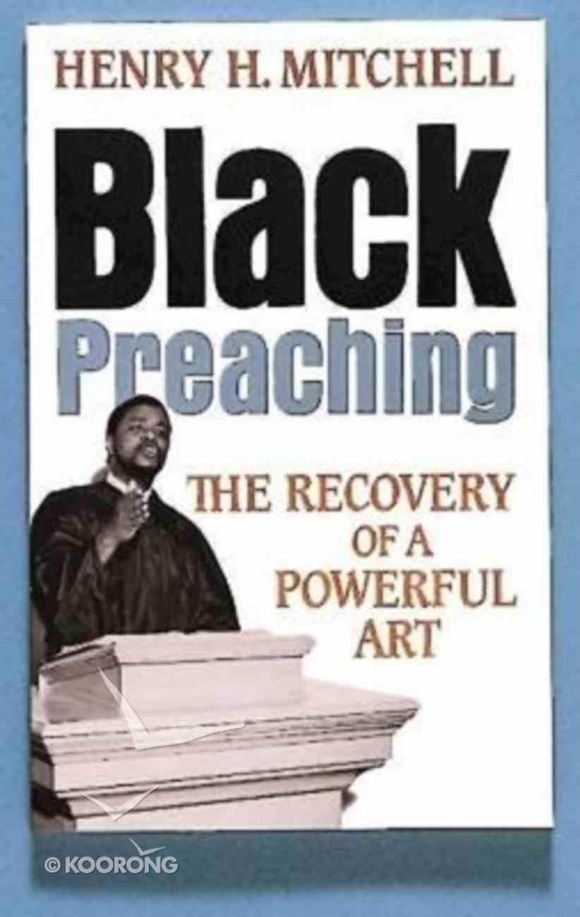Black Preaching Paperback