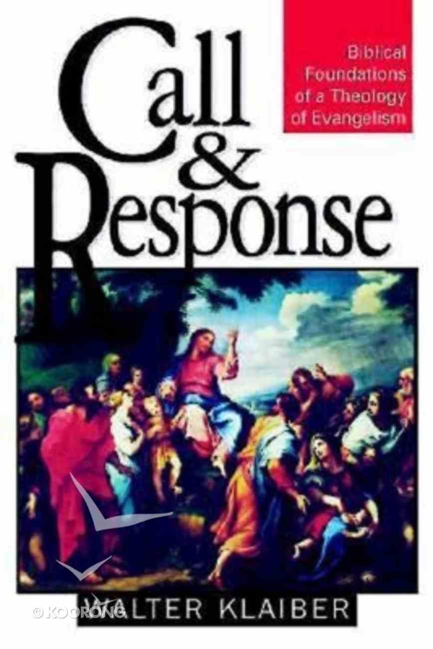 Call & Response Paperback