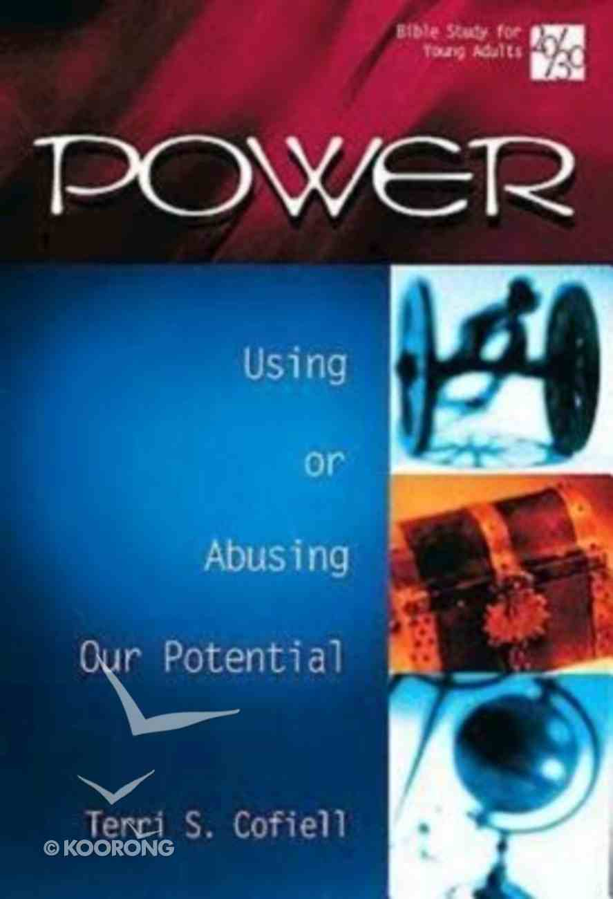 Power (20/30 Bible Study For Young Adults Series) Paperback