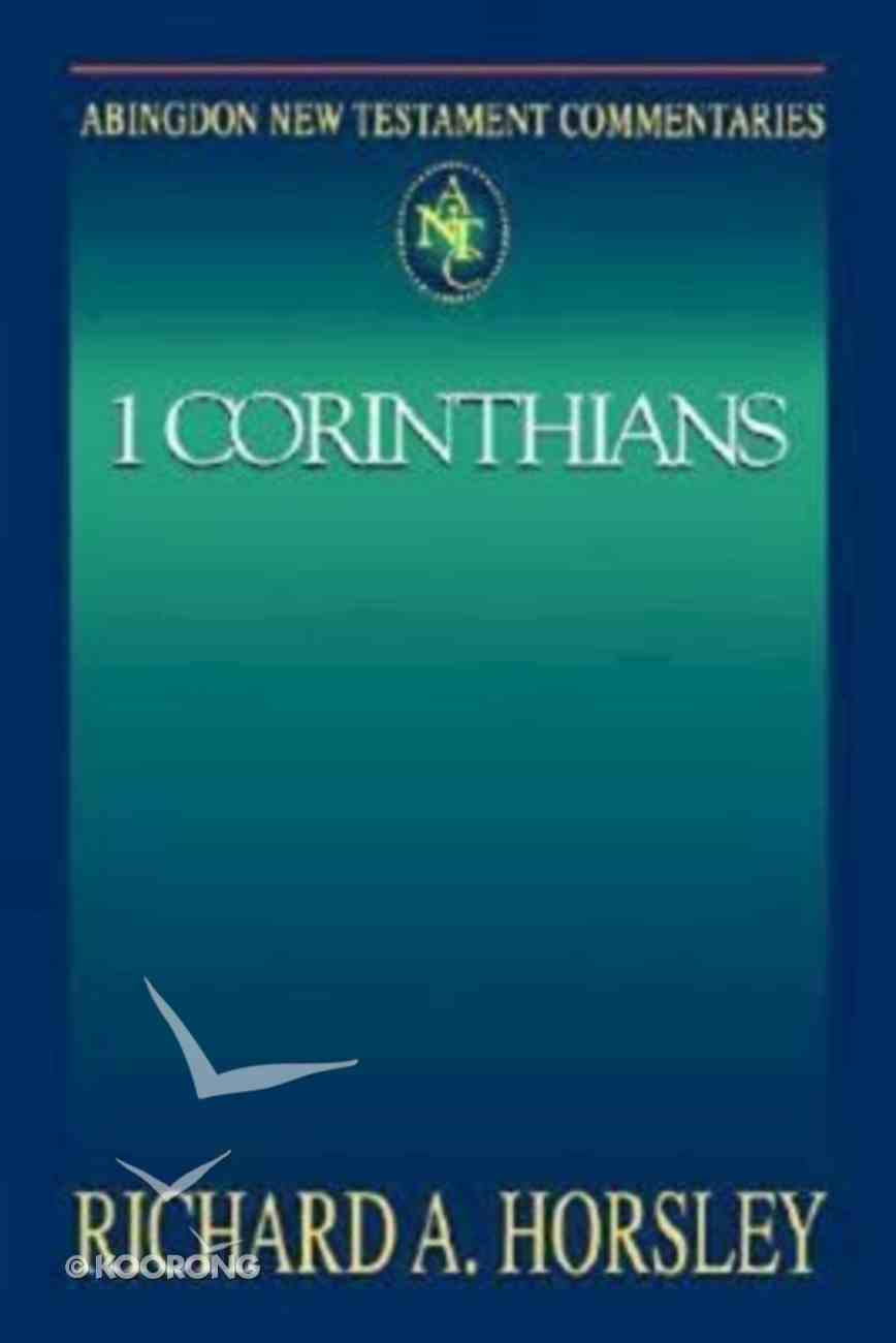 1 Corinthians (Abingdon New Testament Commentaries Series) Paperback