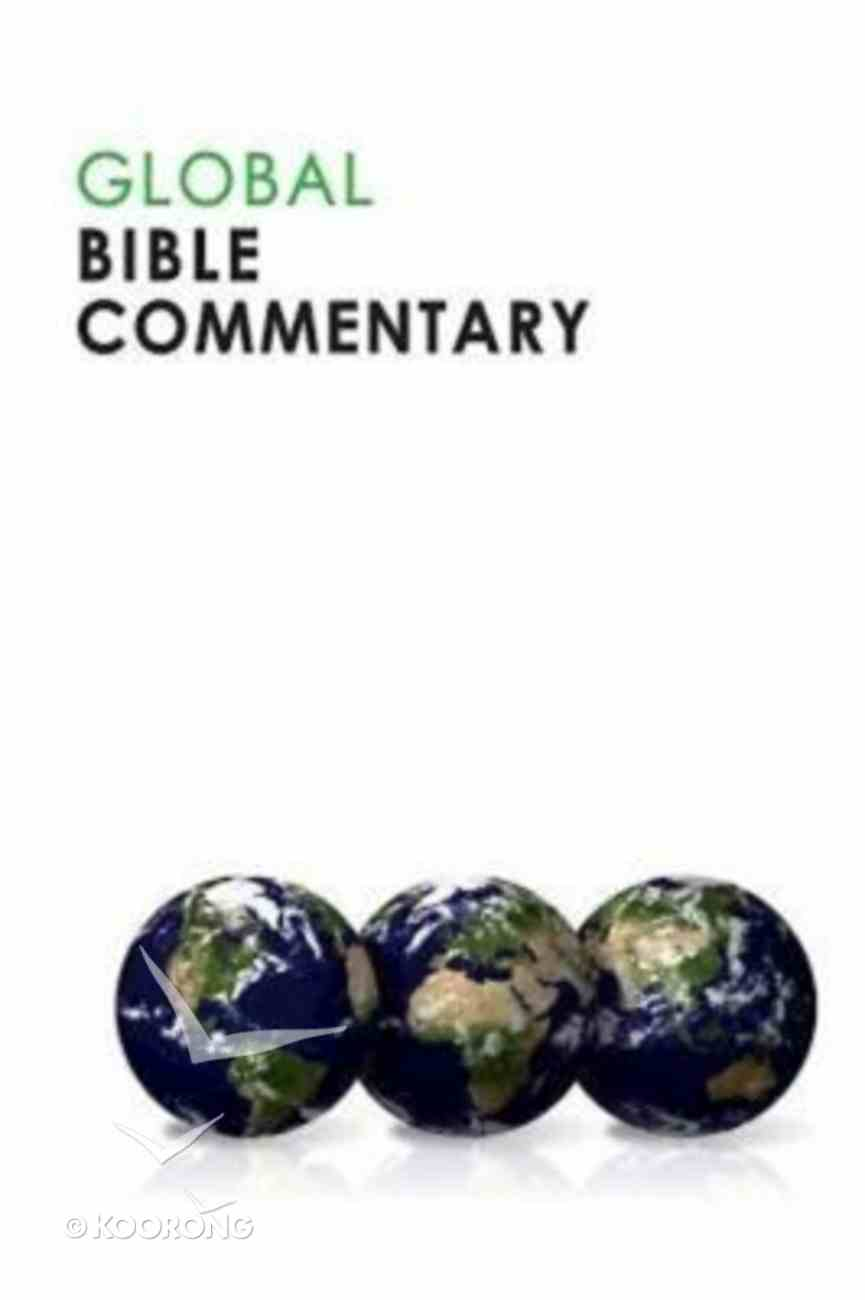 Global Bible Commentary Paperback