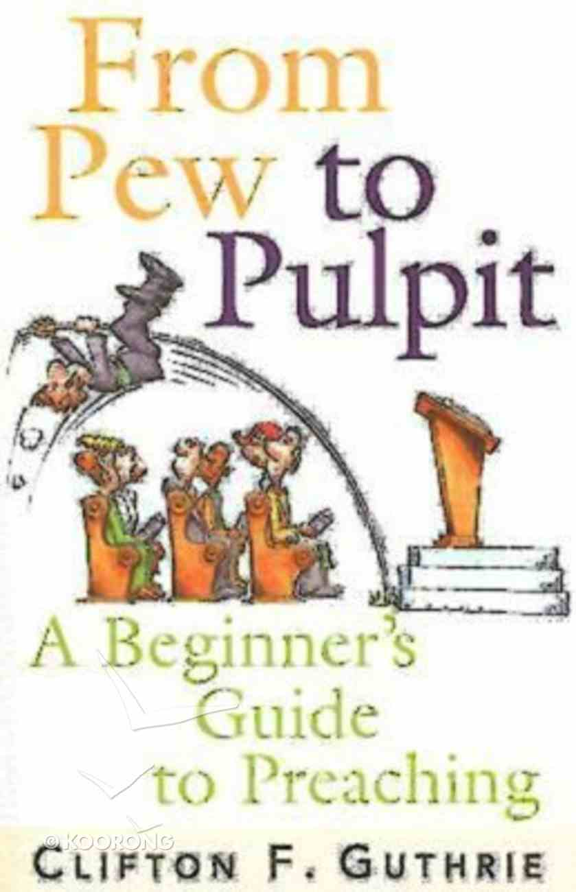 From Pew to Pulpit Paperback