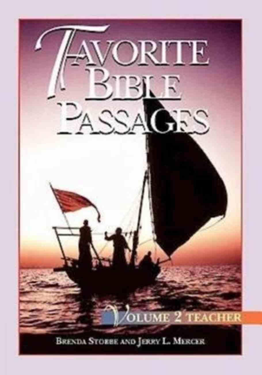 Favorite Bible Passages Volume 2 (Leader's Guide) Paperback